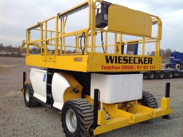 JLG-Diesel-Allrad-Scherenbühne