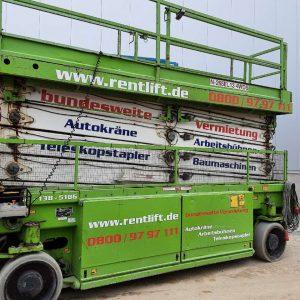 Scherenarbeitsbühne Elektro Hollandlift Combistar N-265 EL13