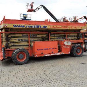 34m Hollandlift Scherenarbeitsbühne 300DL30 BJ 2003
